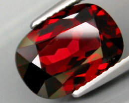 5.38 Ct. Natural Top Red Rhodolite Garnet Africa – IGE Certificate