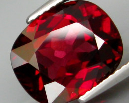 6.02 Ct. Natural Top Red Rhodolite Garnet Africa – IGE Certificate