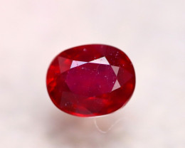 Ruby 3.16Ct Madagascar Blood Red Ruby E0325/A20