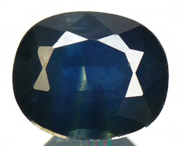 0.72 Ctss Rare Fancy Blue Sapphire Natural Gemstone