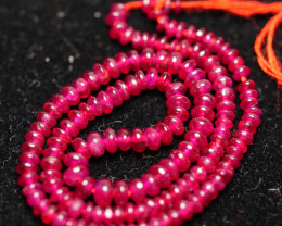 16.115CRT BEAUTY BEADS  BARCELET RUBY MADAGASCAR -