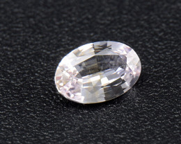 Ceylon internally flawless white Sapphire 0. 47 Ct. (01681)