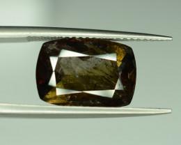 4.65 ct Rare Reddish Brown Axinite Cushion Cut Gemstone