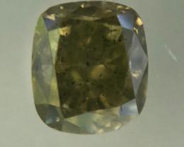 0.52 Fancy Intense Yellowish Green