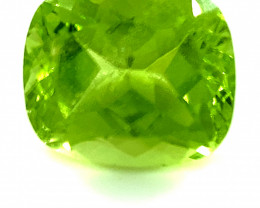 Peridot 2.45ct Cushion
