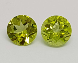 1.75Crt Peridot Natural Gemstones JI23
