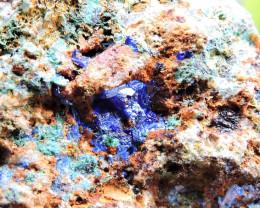 62.92g LINARITE SPECIMEN ELECTRIC BLUE KING ARTHUR MINE THRACE GREECE