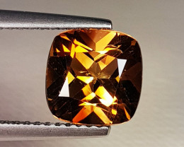2.84 ct Top Quality Stunning Cushion Cut Natural Champion Topaz