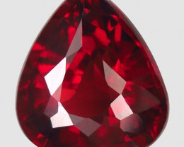5.75 Ct. Natural Top Red Rhodolite Garnet Africa – IGE Certificate