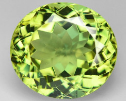 11.49 Cts Un Heated Natural Green Apatite Loose Gemstone