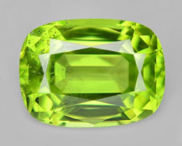 1.81 Cts  Amazing  Rare Green Color Natural BURMA Peridot Gemstone