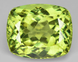 9.93 Cts Un Heated Natural Green Apatite Loose Gemstone