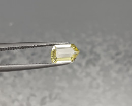 Natural Yellow Beryl Gem. 0.94Cts..