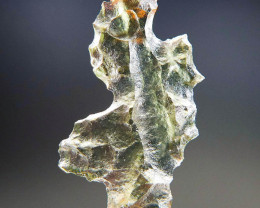 Angel Chime Moldavite from Besednice  quality A+ CERTIFIED