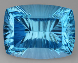 18.47 CT BLUE TOPAZ AWESOME COLOR AND CUT GEMSTONE TP11