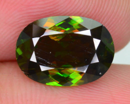 Rare AAA Fire 3.25 ct Chrome Sphene Skardu Sku-14