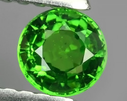 ~GORGEOUS NATURAL UNHEATED ROUND GREEN TSAVORITE GARNET EXCELLENT~