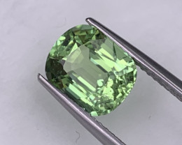 2.92 Cts Afghanistan Natural Tourmaline Top Quality Mint Green