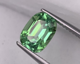 2.29 Cts Afghan Natural Tourmaline Apple Green Color Top Quality