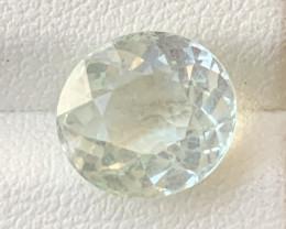 3.65 Carats Aquamarine Gemstone