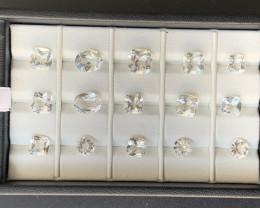 34.60 Carats Topaz Gemstones Parcel