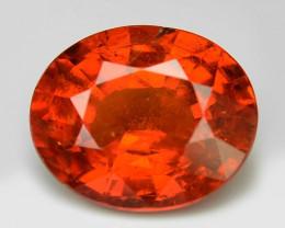 2.95 Cts Natural Orange - Red Spessartite Garnet Loose Gemstone