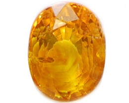 1.0Ct Natural Yellow Sapphire