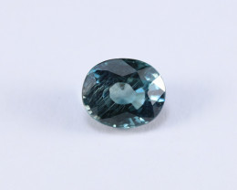 **UNHEATED** 3.32ct Lab Certified Natrual Blue Sapphire