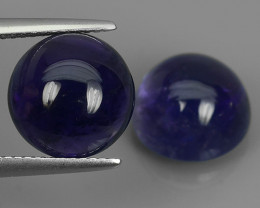10.60 CTS AWESOME NATURAL ROUND PURPLE~VIOLET AMETHIYST GEM!!