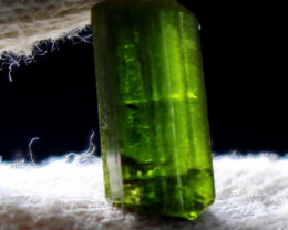 4.30 CT Natural - Unheated  Green Tourmaline Crystal