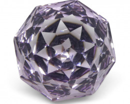6.65 ct Flower Amethyst Fantasy Cut