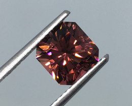 1.71 Carat VVS Tourmaline Master Cut Congo Incredible Flash !