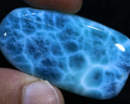 Larimar Polished Stone 117.50cts  MX-11