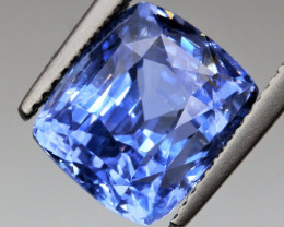 UNHEATED  8.43 ct. Natural Earth Mined  Blue Sri Lanka  SAPPHIRE CERTIFIED