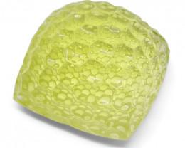 37.66 ct Cushion Lemon Citrine Fantasy Cut