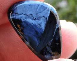 6.85ct PIETERSITE CHATOYANT  CAB FROM NAMIBIA