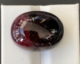 38 Carats Natural Bi Color Tourmaline Cabochon
