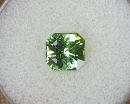 2,70ct Green Tourmaline - Designer cut!