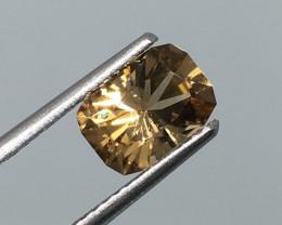 ⭐️SALE 1.38 Carat VVS Tourmaline Congo Master Cut Golden Perfection !