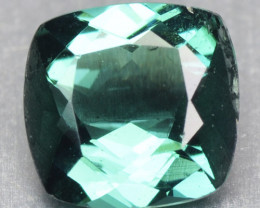 0.73 Cts Unheated Green Color Natural Tourmaline Loose Gemstone