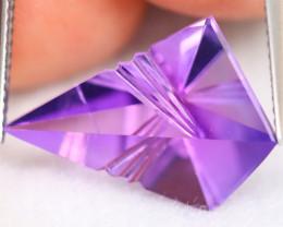 Amethyst 6.68Ct Designer Cut Natural Bolivian Purple Amethyst B0405