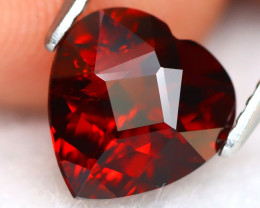 Spessartite 2.21Ct Heart Cut Natural Spessartite Garnet B0406
