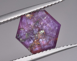 Star Ruby Slice 2.50 Carats