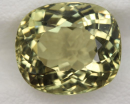 6.35 Carats Natural Heliodor Gemstone