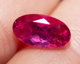2.11 CTS. RUBELLITE, OVAL
