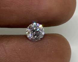 Cert $1020 Fiery 0.61cts SI2 White Loose Diamond Round  Natura