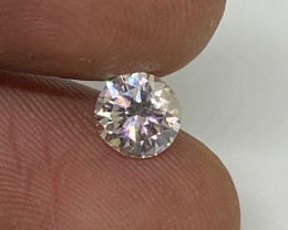 (2) Cert $1709 Fiery 0.75cts  SI2  White Loose Diamond Round  Natural