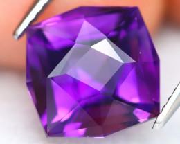 Uruguay Amethyst 4.94Ct VVS Master Cut Natural Violet Amethyst ET0241
