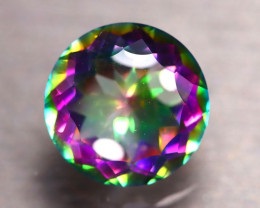 Mystic Topaz 7.70Ct Natural IF Mystic Rainbow Topaz DR163/A47