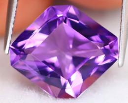 Amethyst 5.81Ct VVS Master Cut Natural Bolivian Purple Amethyst B0503